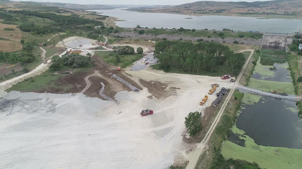 Kanal İstanbul'da temelin atılacağı nokta - 7