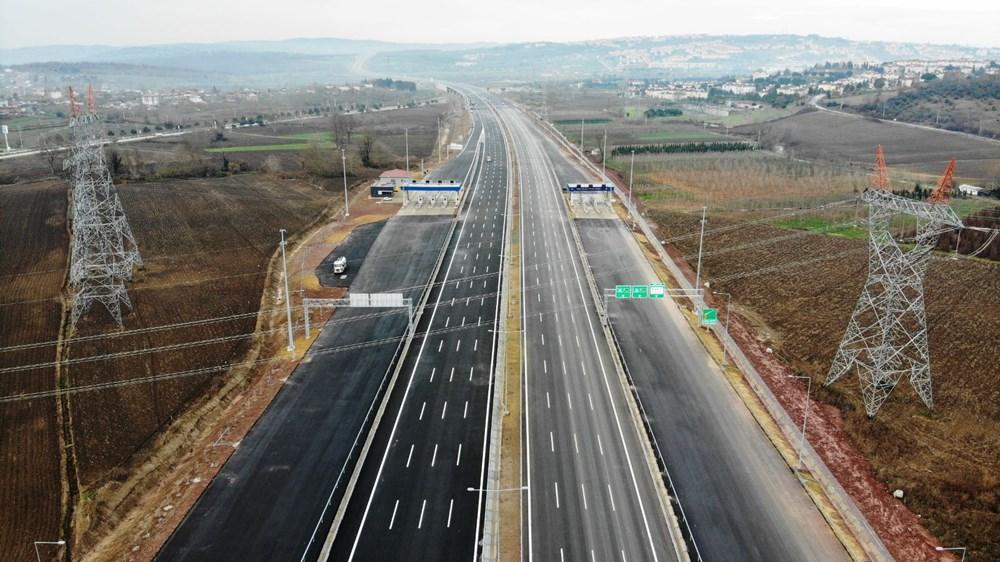 Kuzey Marmara Otoyolu'nun İzmit-Akyazı kesimi açılıyor - 2