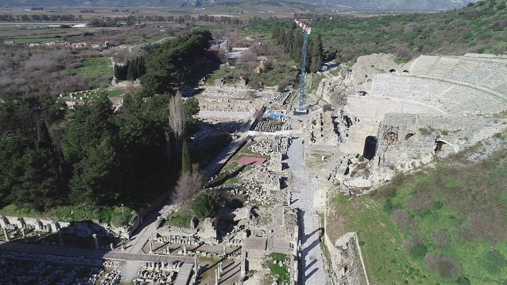 Efes Antik Kenti, pandemi döneminde de güvenli turizmin adresi oldu - 6