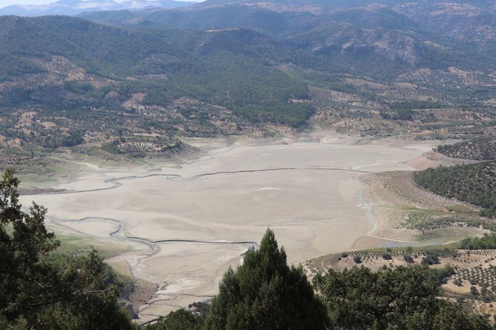 Doğa harikası İnceğiz Kanyonu'nun suyu çekildi - 14