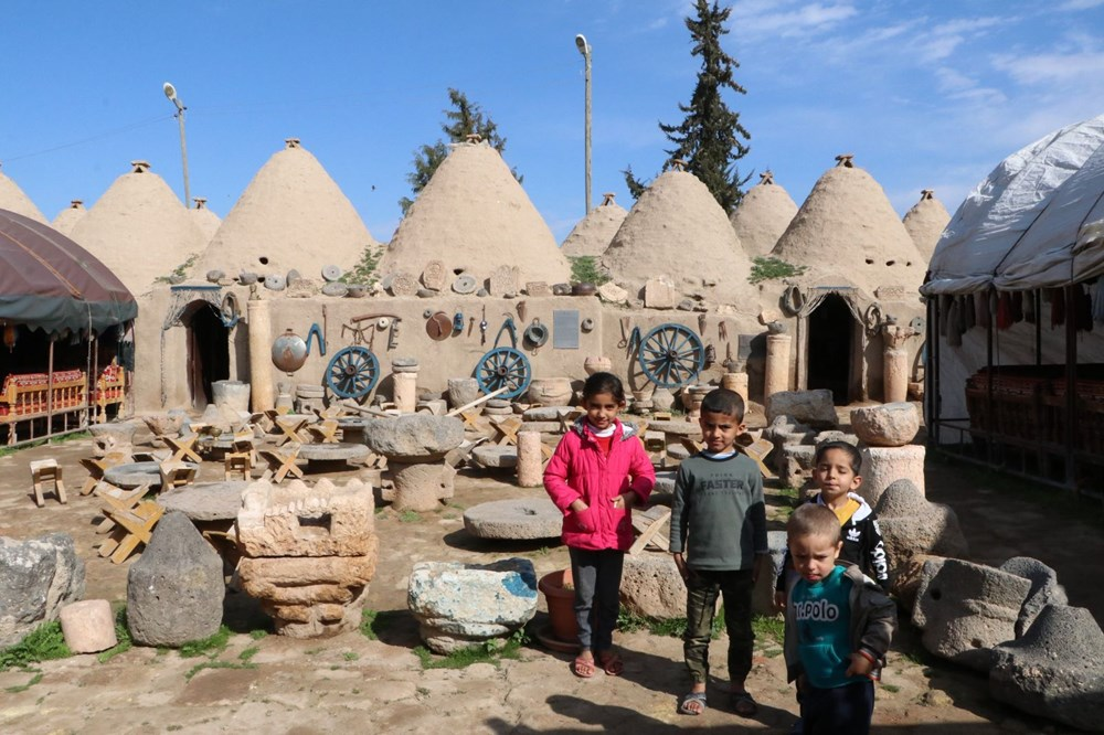 Harran's historical cupolas with their unique architecture - 10