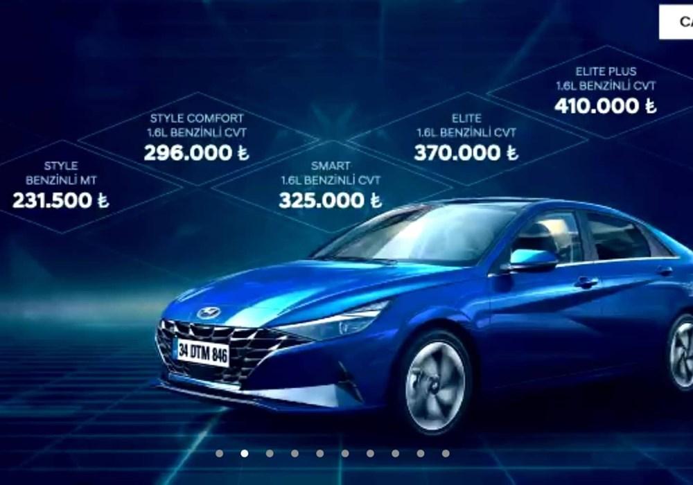 Hyundai Elantra Türkiye'de satışa çıktı (Fiyatı belli oldu) - 11