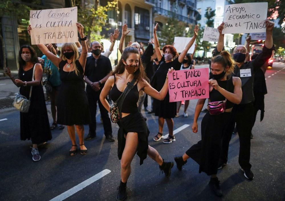 Arjantin'de dansçıları pandemi isyanı - 3