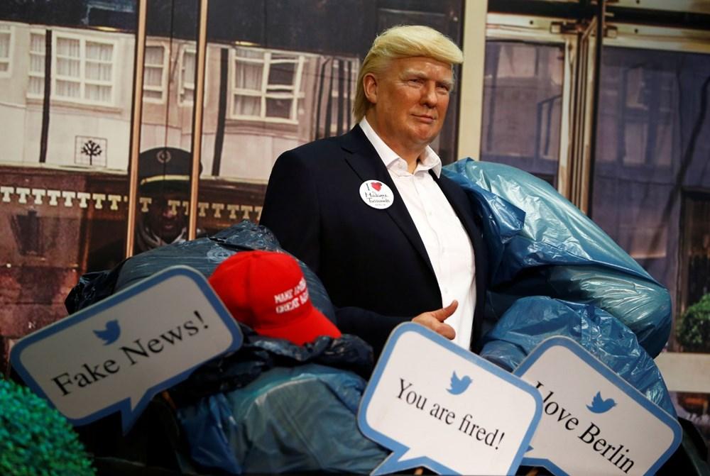 Madame Tussauds müzesi Trump heykelini çöpe attı - 2