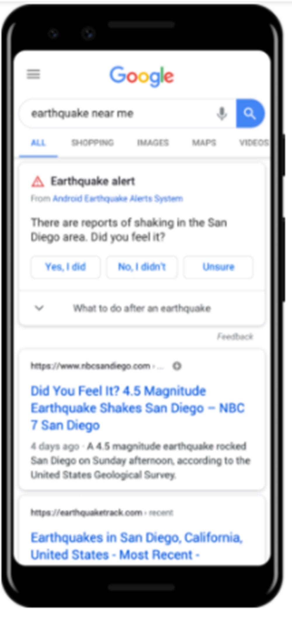 Android telefonların hepsi artık birer sismograf - 3