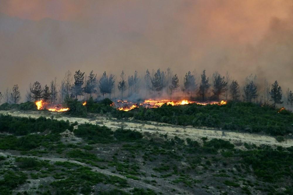 Adana'da orman yangını: 8 köy boşaltıldı - 19