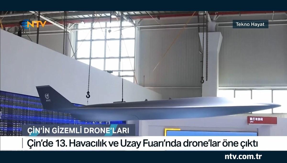 Çin'in gizemli drone'ları (Tekno Hayat)