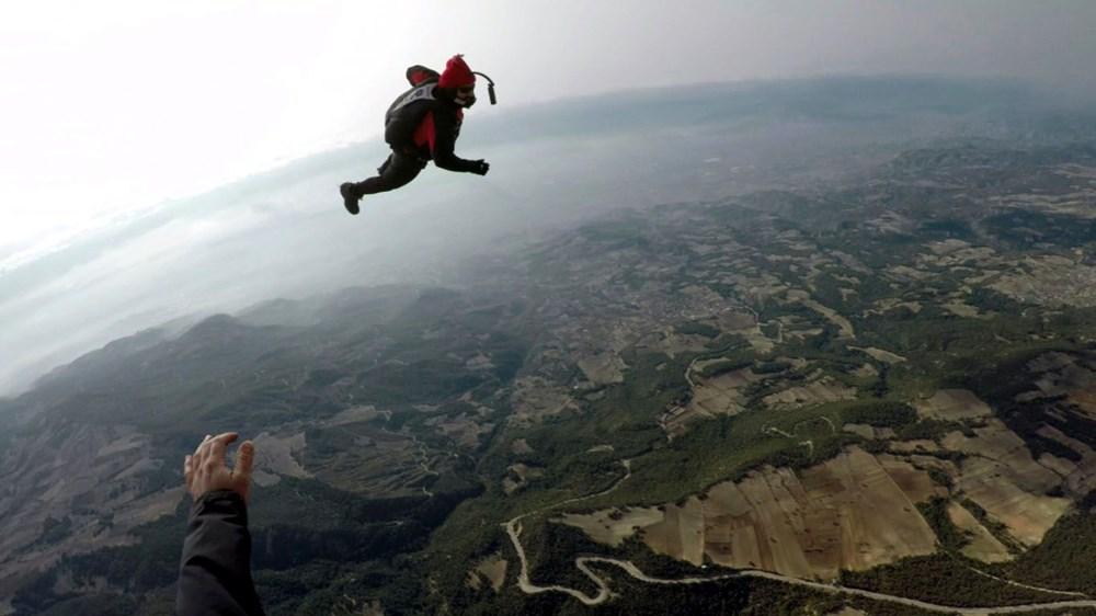 Hayko Cepkin, Pamukkale'de balondan paraşütle atladı - 6