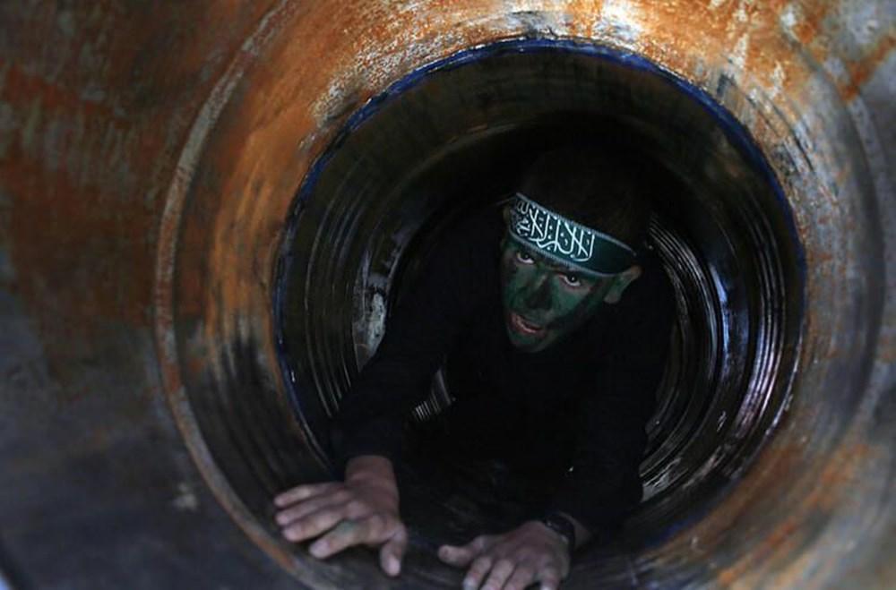 Hamas'ın Gazze'de kullandığı tüneller görüntülendi: İsrail'in hedefinde - 24