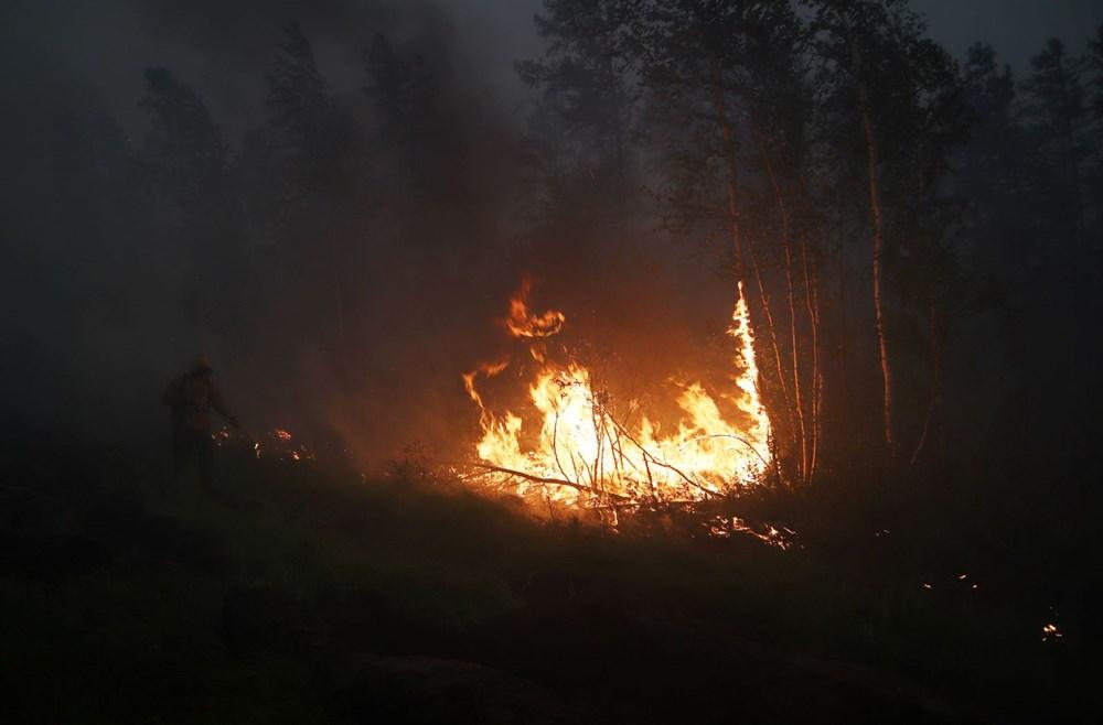 NASA duyurdu: Sibirya'daki yangınların dumanları tarihte ilk kez Kuzey Kutbu'na ulaştı - 13