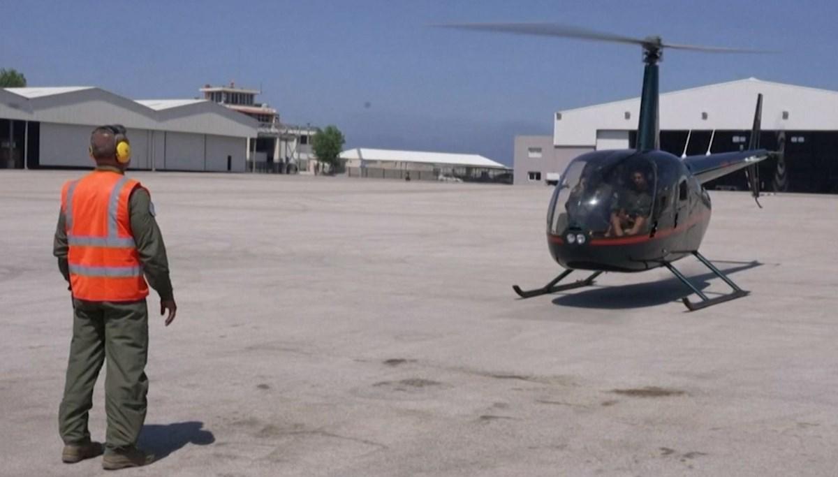 Askeri helikopterle turistik gezi