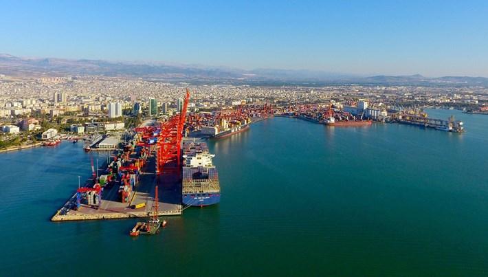 Mersin'de liman kapasitesini artırma çalışmaları sürüyor