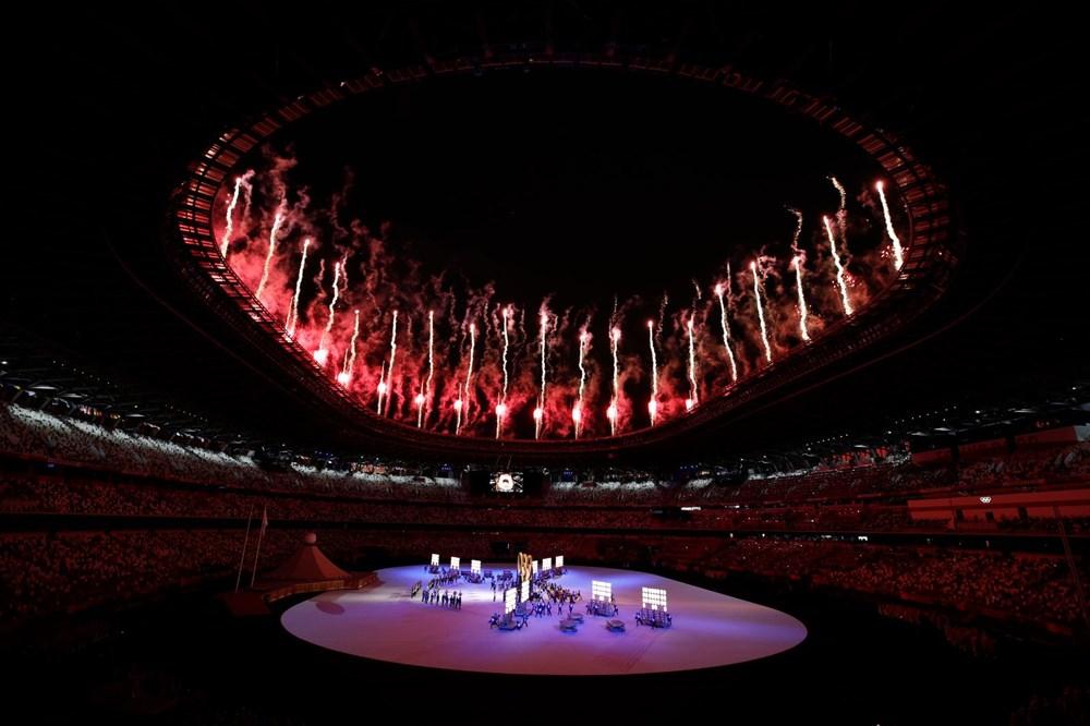2020 Tokyo Olimpiyatları görkemli açılış töreniyle başladı - 25