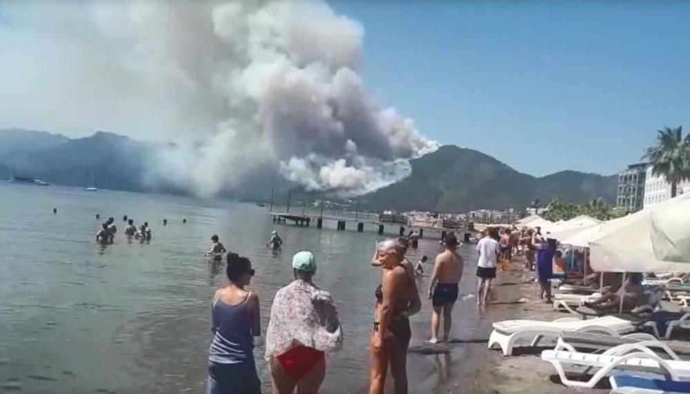 Marmaris'teki orman yangınından acı haber - 2