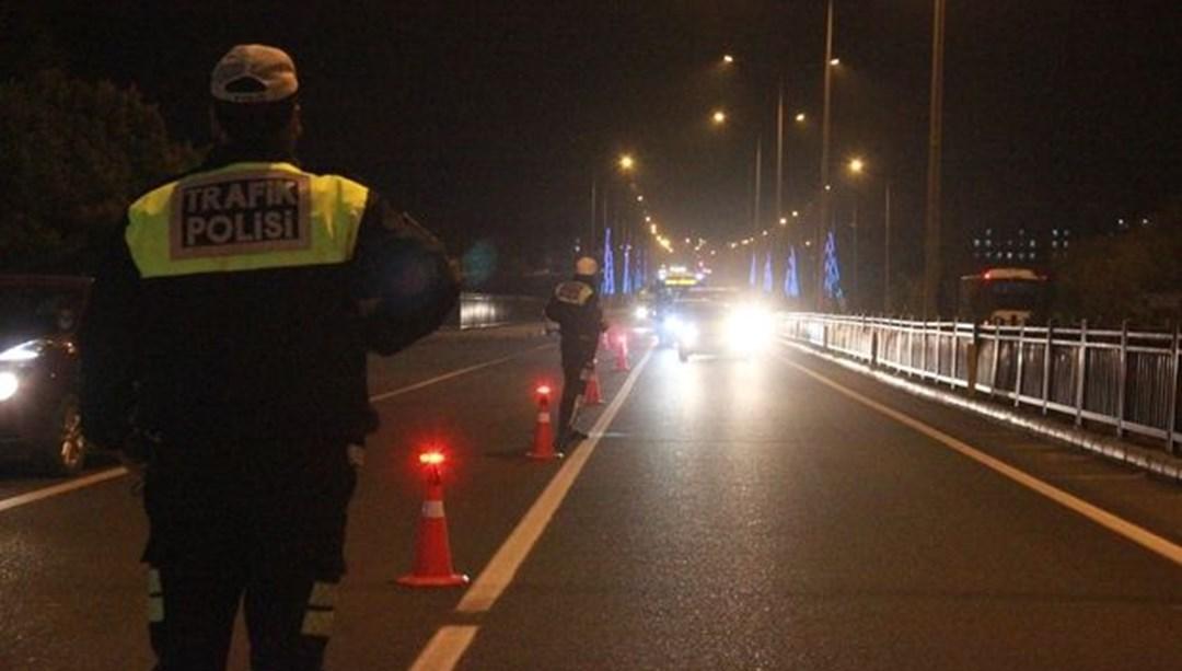 Yedinci kez alkollü araç kullanırken yakalanan sürücünün ehliyetine 2046'ya kadar el konuldu