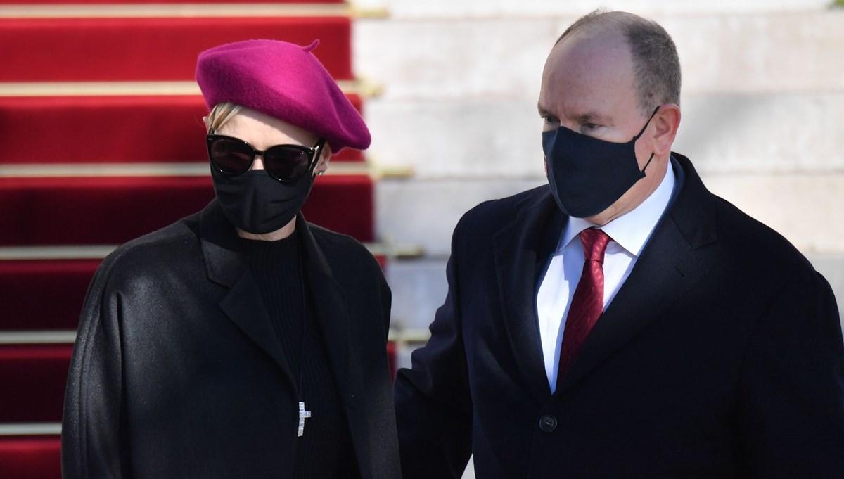 Prenses Charlene takma isimle tedavi oldu
