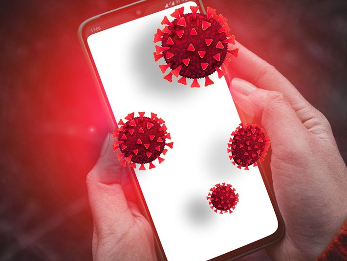 Cep telefonu ile corona virüs testi