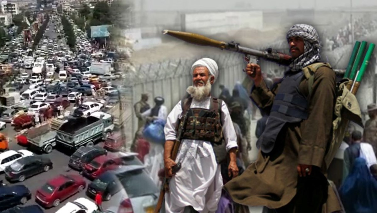 SON DAKİKA:Taliban başkent Kabil'e girdi