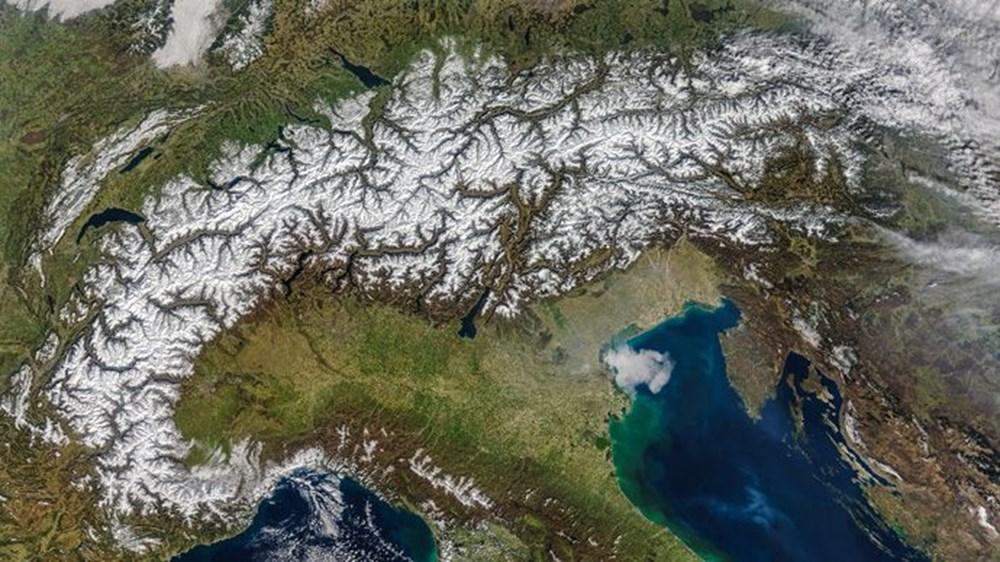 NASA Trump'ın 'büyük felaket' ilan ettiği yangınların uydu görüntülerini yayınladı - 33