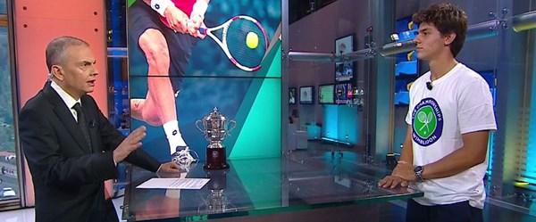 Wimbledon şampiyonu Yankı Erel NTV'de
