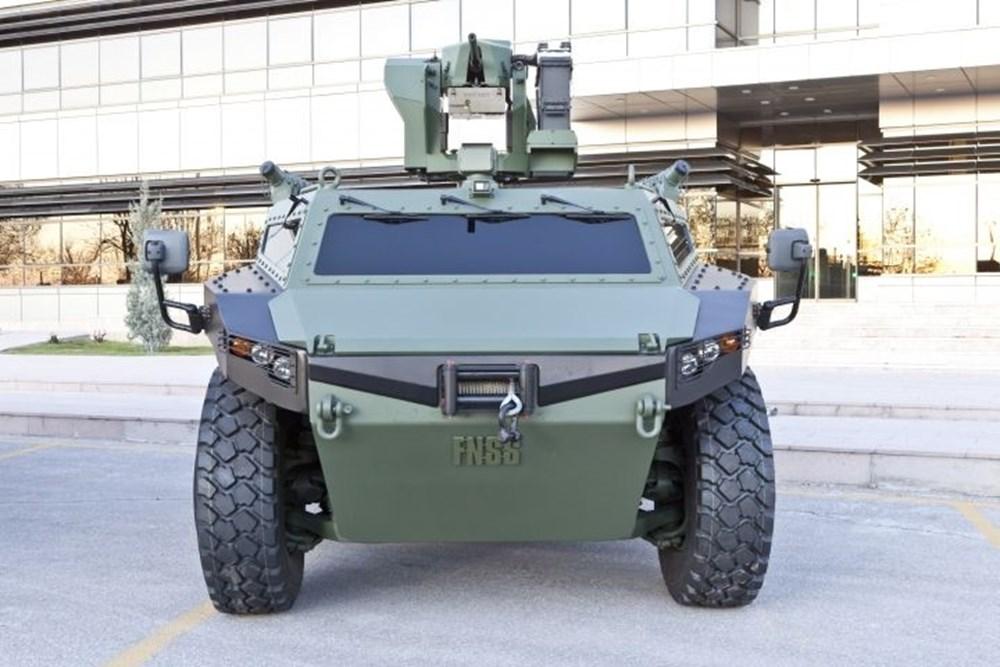 Dijital birliğin robot askeri Barkan göreve hazırlanıyor (Türkiye'nin yeni nesil yerli silahları) - 198