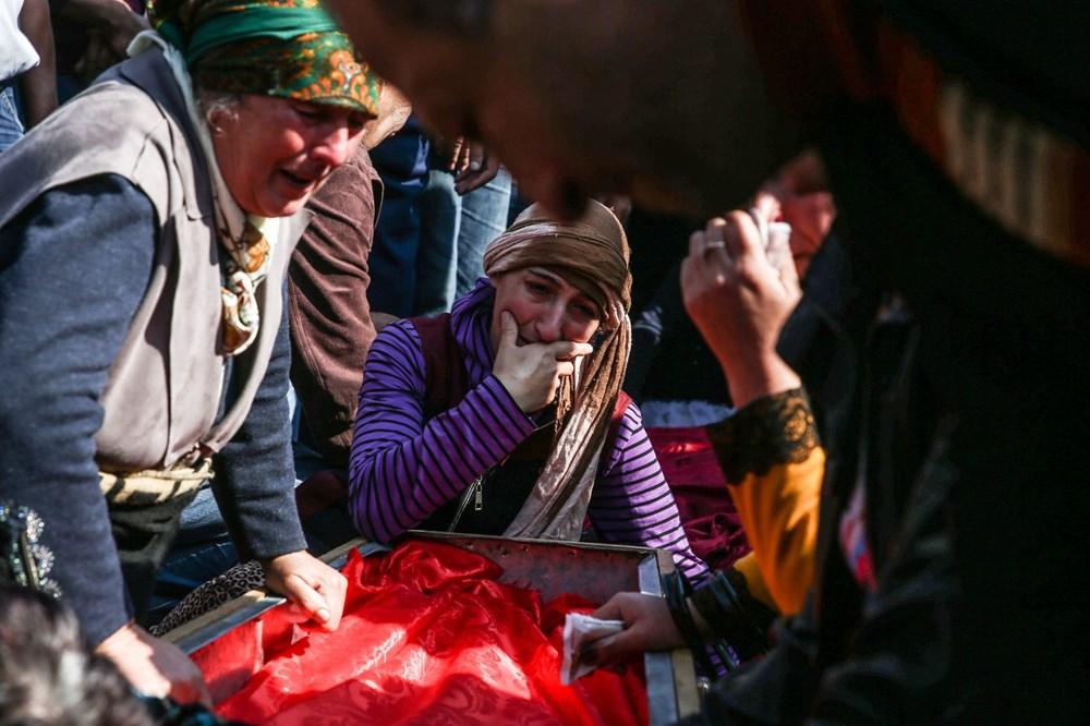Hain saldırının küçük kurbanları: Cenazede gözyaşları sel oldu - 1