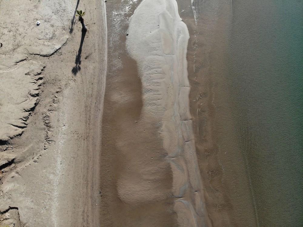 Muğla'da deniz 20 metre çekildi - 2