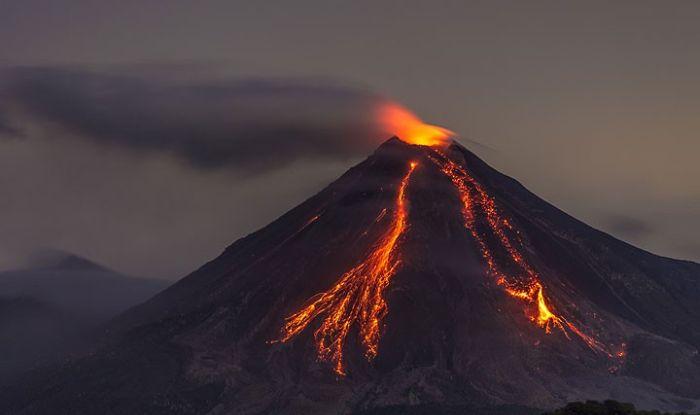 Colima yanardağı