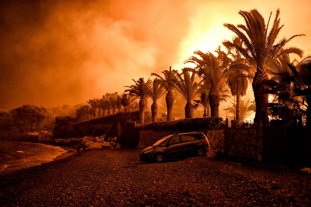 Forest fire in Greece: Extinguishing work continues - 2