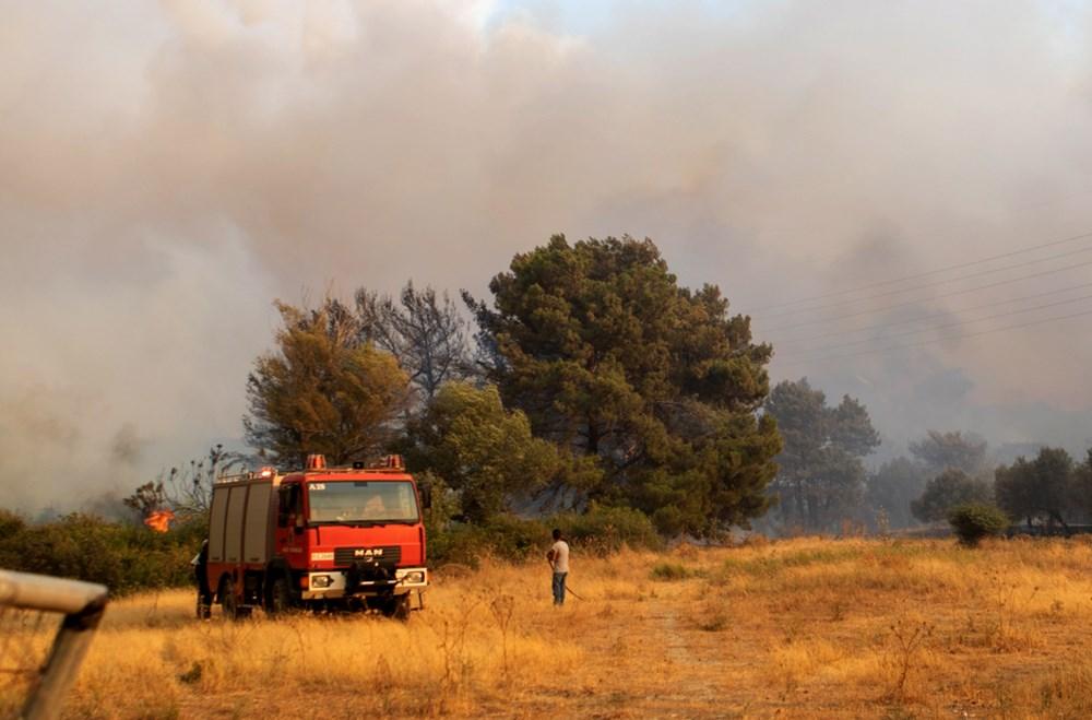 Akdeniz alev aldı: Yunanistan ve İtalya'da orman yangınları sürüyor - 5