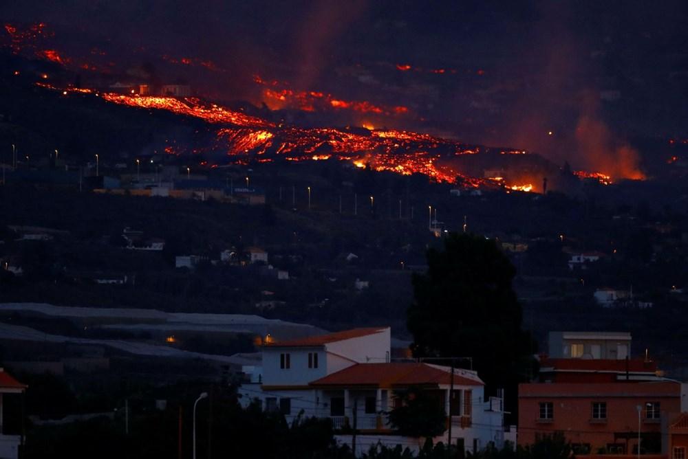 Kanarya Adaları'nda aktif hale gelen yanardağda patlamaların şiddeti arttı - 11