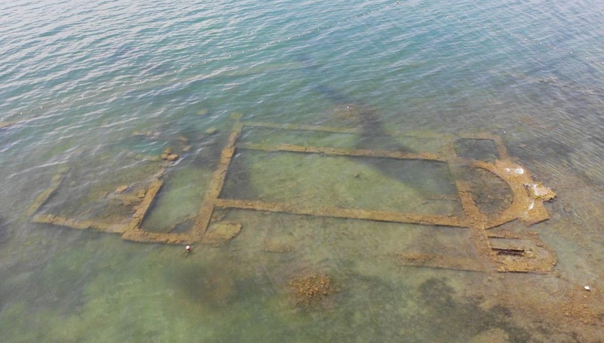 Tarihin önemli buluşları arasında gösterilen İznik Bazilikası sulara gömüldü