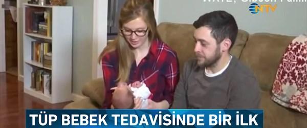 Tüp bebek tedavisinde bir ilk