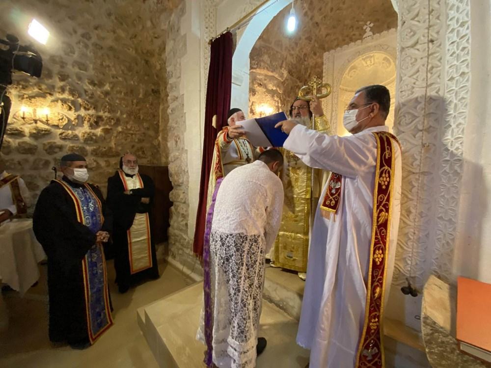 Midyat'ta Süryani cemaatinden 30 yıl sonra papaz töreni - 5
