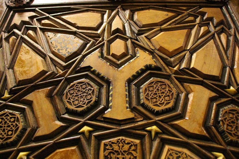 Sultan II. Bayezid Camisi'nin penceresinde Kayı sembolleri bulundu: Dünyada tek örnek - 7