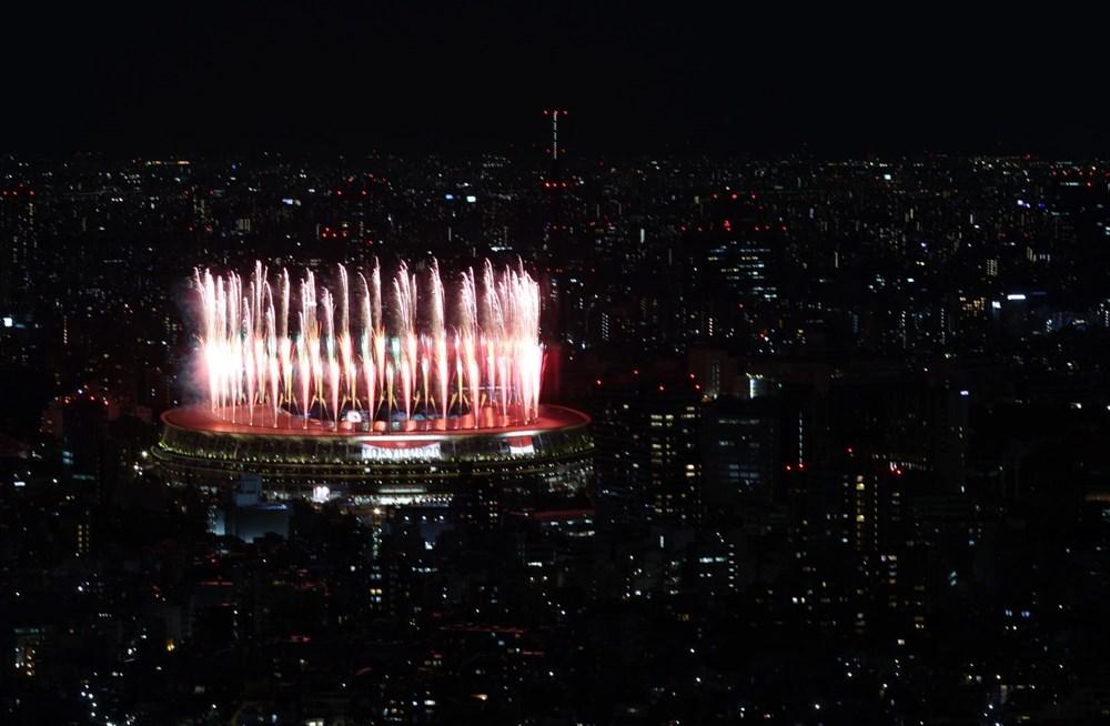 2020 Tokyo Olimpiyatları görkemli açılış töreniyle başladı - 83