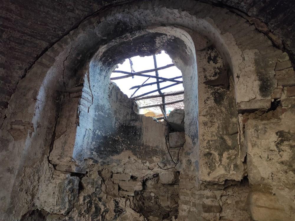 Bursa'da tarihi Aya Yani Kilisesi definecilerin hedefi oldu - 6