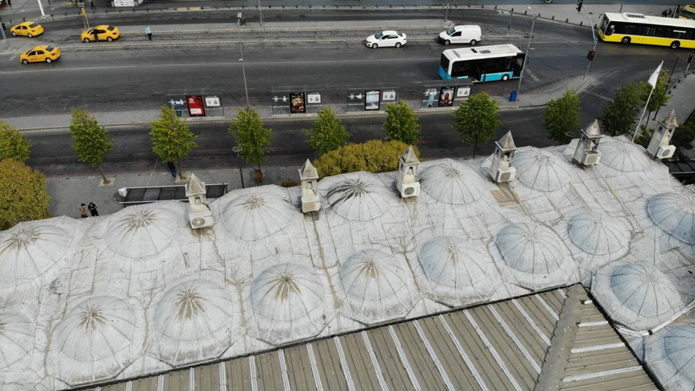 Üsküdar'daki 472 yıllık tarihi camiiye klima ünitesi - 3