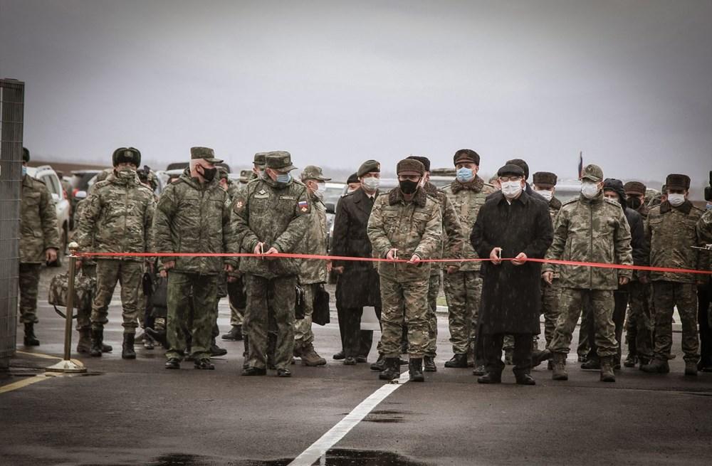 Dağlık Karabağ'da Türk-Rus Ortak Gözlem Merkezi faaliyete başladı - 22