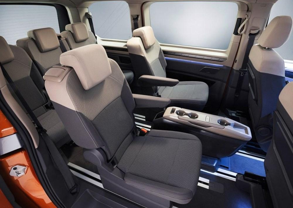 2022 Volkswagen T7 Multivan tanıtıldı - 7