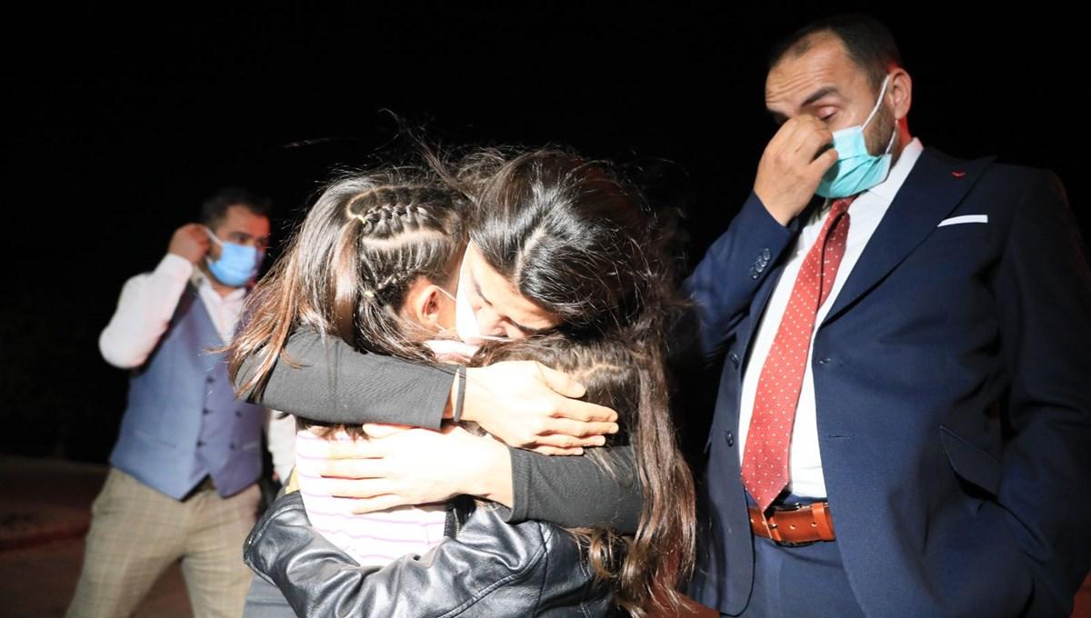 Melek İpek tahliye edildi: Bu gece artık rahatça uyuyabileceğim