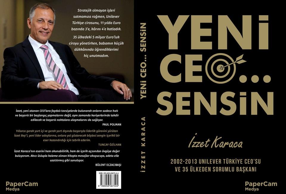 """Karaca'nın """"Yeni CEO... Sensin"""" kitabı PaperCam Medya'dan çıktı. Çizimler Kutlukhan Perkerimzalı..."""
