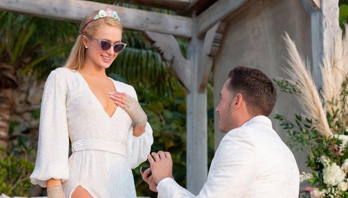 Paris Hilton: Geçmişteki travma ilişkilerimi etkilese de nişanlım beni ben olduğum için seviyor