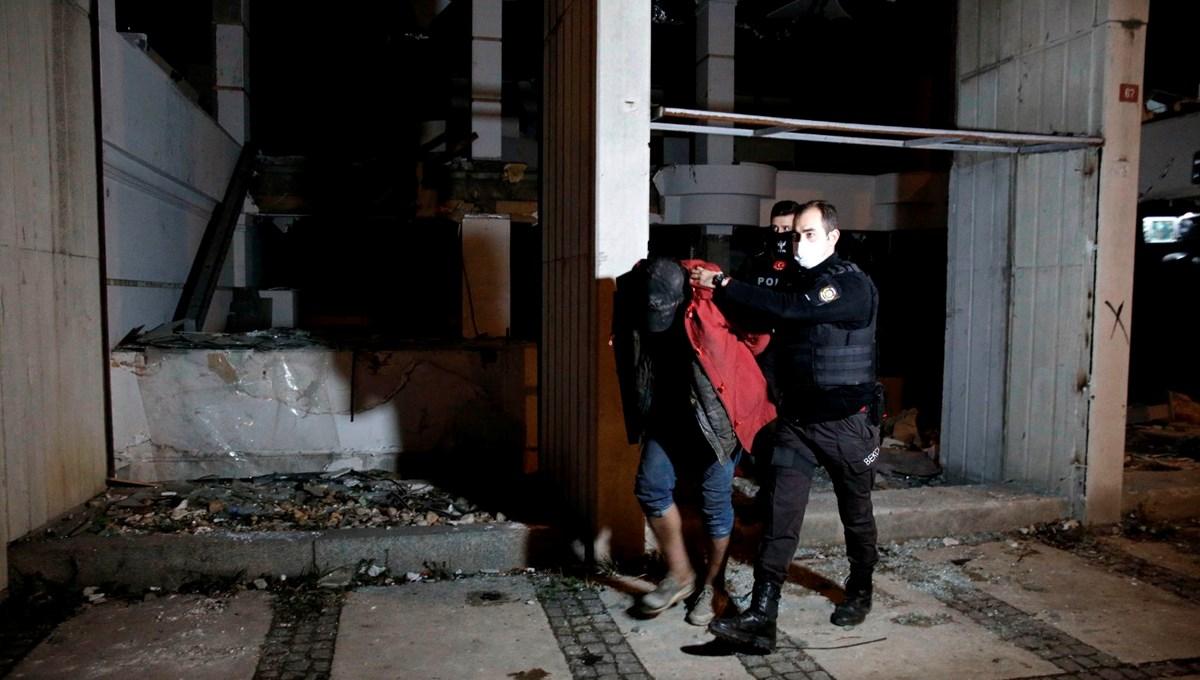 Rıza Sarraf'ın el konulan eski holding binasına hırsızlar dadandı
