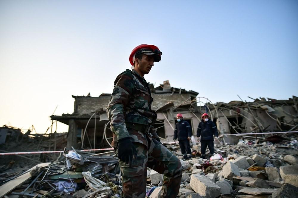 Ermenistan'ın Gence'ye füze saldırısının şiddeti gün ağarınca ortaya çıktı - 12