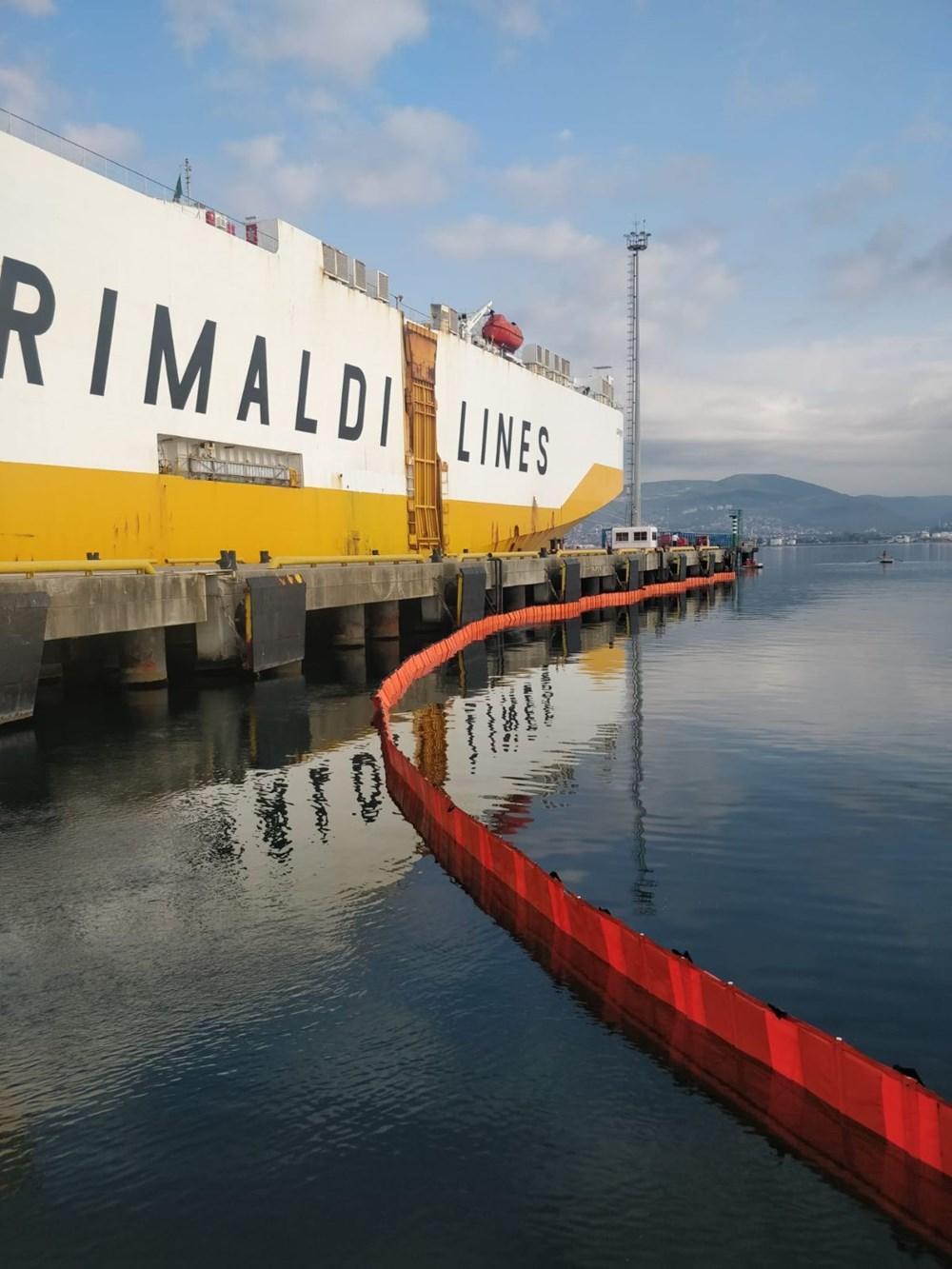 İzmit Körfezi'ni kirleten gemiye 3,4 milyon lira ceza uygulandı - 4