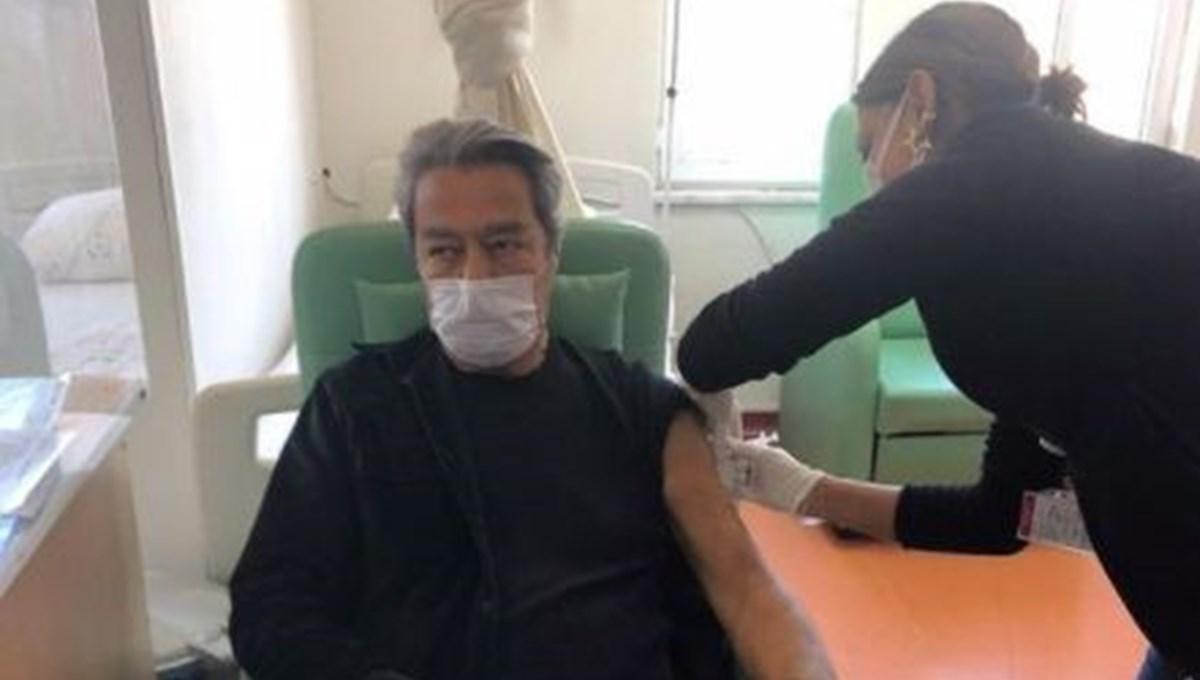 Kadir İnanır corona virüs aşısı oldu