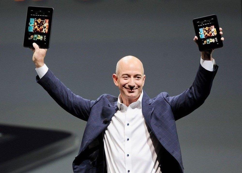 Jeff Bezos servetiyle rekor tazeledi - 2