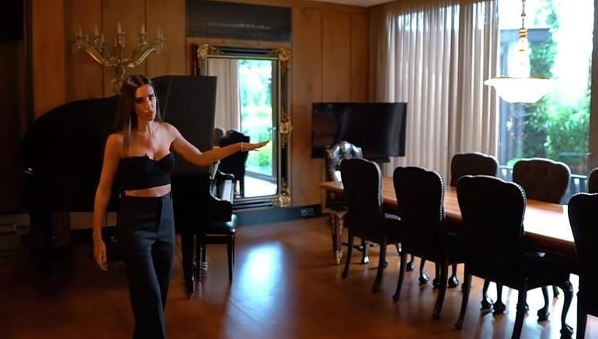 Arda Turan'ın eşi Aslıhan Doğan Turan evinin kapılarını açtı