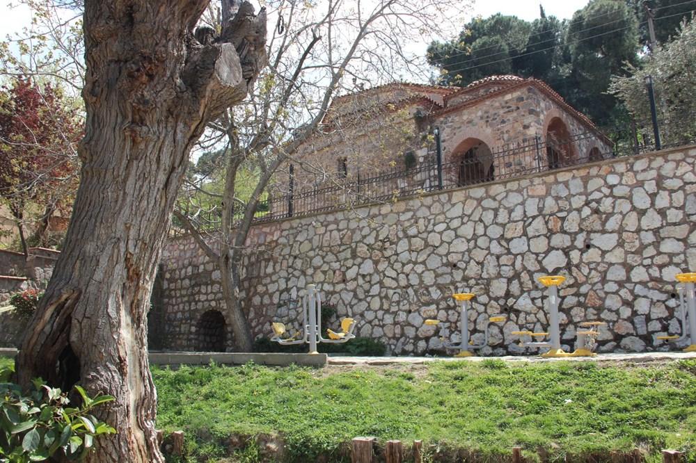 Manisa'da ecdat yadigarı Seyit İbrahim Hoca Mescidi'nin kapısı çalındı damla mağarası ortaya çıktı - 6